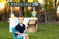 Pueblo Children's Photographer Lemonade Stand Mini Session