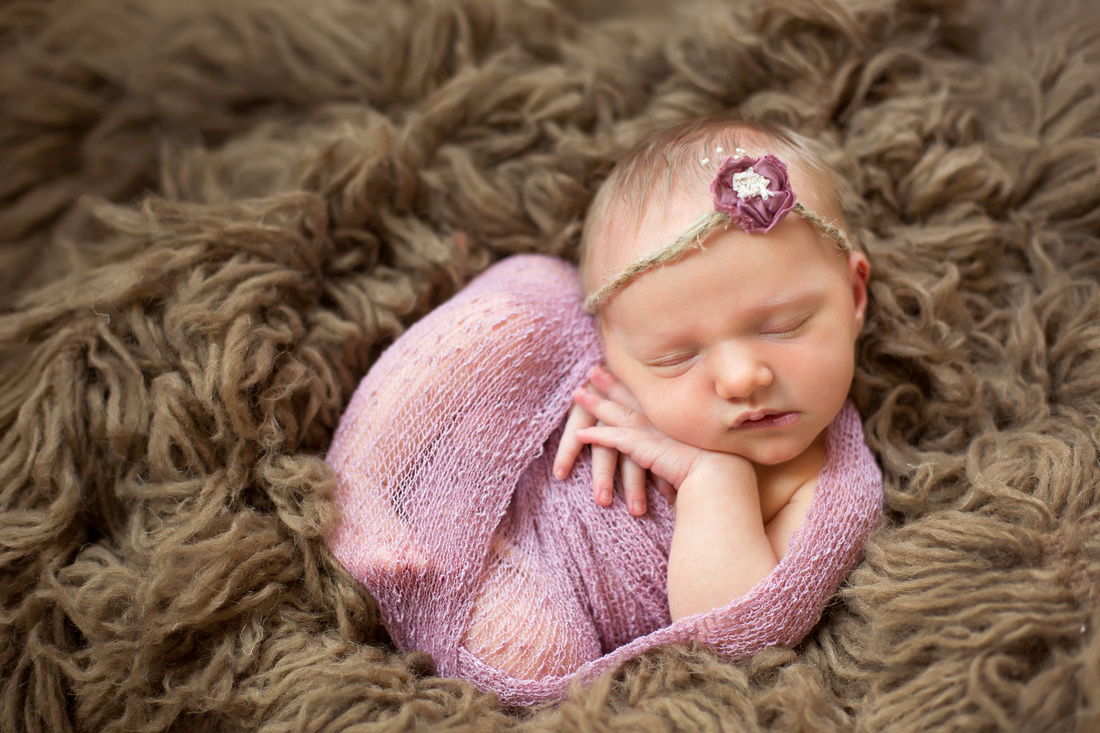 Pueblo newborn photographer, newborn baby girl.